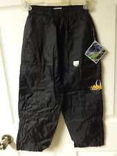 Vintage Original 1999 WCW Bill Goldberg Youth Small 5/6 Lined Jogging Pants NWT