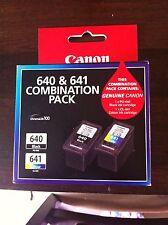 Genuine Canon 640 & 641 Duo Pack