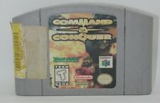 Nintendo 64 Command And Conquer Game Cartridge, Works R13271