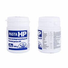 Pâte Thermique HP 100ml 1,5W / Mk -50~250 ﹾ C Blanc Chimiquement Constant