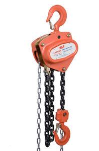 NEW industrial lifting equipment Chain Block 2t x 3mtr