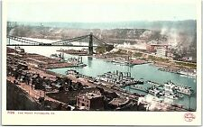 Postcard PA Pittsburgh ~ The Point ~ Detroit Publishing ~ UDB ~ Unposted J16