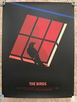 Decor Poster.Home interior design.Room wall print.Hitchcock The birds movie.6856