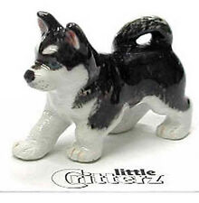 ➸ LITTLE CRITTERZ Dog Miniature Figurine Siberian Husky Bering
