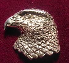 LOVELY PELTRO FALCONERIA Falcon FALCHI HEAD PIN SPILLA