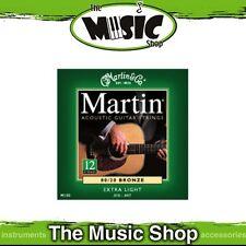 Martin 80/20 Bronze 12-String Guitar Strings 10-47 Extra Light - M180