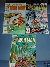 Lot of 3 Marvel IRONMAN comic books - Oct -Dec, 1983