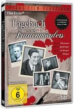 DVD - TAGEBUCH EINES FRAUENMÖRDERS -- GÜNTER PFITZMANN/ INGRID v. BERG --NEU ---
