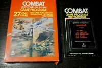 Combat (Atari 2600) CX2601 Complete in Box CIB