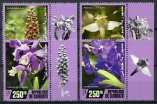 Djibouti Flowers Stamps 2020 MNH Orchids Cattleya Orchid Flora Nature 4v Set