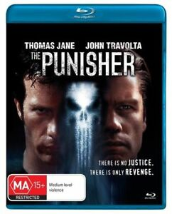 THE PUNISHER BLU-RAY, NEW & SEALED, FREE POST