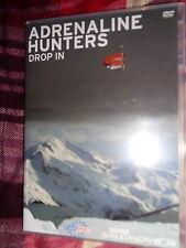 RARE DVD Saab Salomon Present ADRENALINE HUNTERS DROP IN Freeski Rally Snowboard
