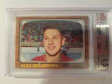 1966-67 Topps Hockey #102 Alex Delvecchio (Red Wings) BVG 8.5 NM-MT+ (Box DP)