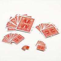 1X schrumpfende Karten Magic Tricks Prop&Training Set für Party Stage Requisxj