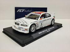 Slot car Scalextric Fly 88079 A-622 BMW 320i E-46 #5  FIA ETCC 2002 Jordi Gene