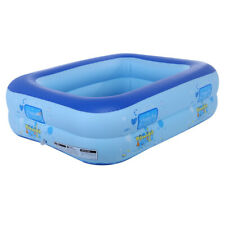 Small Inflatable Swimming Pool Kids Water Play Fun For One Child