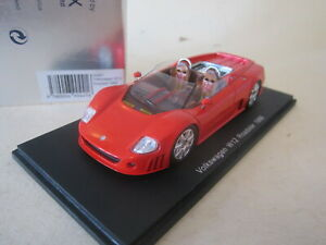 Spark S0441. 1:43 1998 VW Volkswagen W12 roadster in red MINT BOXED