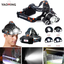 Yoaming Ultra Bright High power 3 X Ts LED Rechargeable Headlamp 5000 Lumens