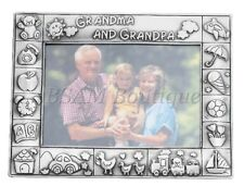 Pewter -  My Grandma and Grandpa Photo Frame