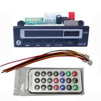 MP3 WMA WAV Bluetooth 5.0 Decoder Board 5V 12V Wireless USB TF FM Radio Module