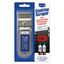 Hillmark Ceramic Glass Cooktop Scraper Remove Stains Clean Cooktop Scraper NEW