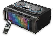 IBIZA SPLBOX150  2.1 Audio LED-System schwarz BT,USB,SD,FM