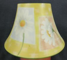 Yankee Candle Medium/Large Jar Shade Daisies Yellow Panels