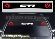 Ss1512 Volkswagen Golf Gti Sol Tiras gráficos Stickers Calcomanías sunstrip
