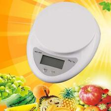 5kg/1g Kitchen Digital Scale LCD Electronic Balance Food Weight Postal Scales C-