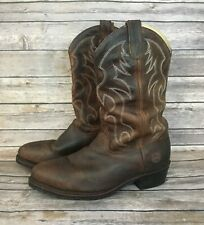 Double H AG7 Work Western Boot (Size: 9)