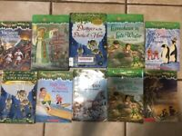 Magic Tree House Kid's Chapter Books, Lot of 10, random mix unsorted