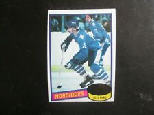 New listing 1980-81 TOPPS HOCKEY CARD MICHAEL GOULET QUEBEC NORDIQUES ROOKIE CARD