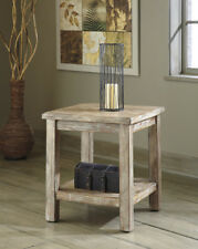 Ashley Furniture Chair Side End Table Rustic Accents Bisque T500-302 Table NEW