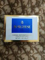 Borghese Crema Ristorativo-PM Hydrating Night Creme 1oz - New In Box!