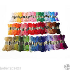 Lot 50pcs Different Colors Cross Stitch Cotton Sewing Embroidery Thread Floss