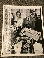 1975 Press Photo Alger Hiss Calls Pumpkin Papers Duds Convicted Russian Spy