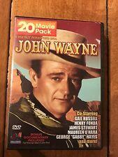 John Wayne 20 Movie Pack (4 Disc Pack) (DVD, 2005) FROM MINNIE MINOSO LOA ESTATE
