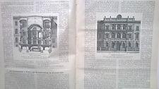 1887 32 Berlin Amtsgericht Teil 2 / Köln Dom ohne Stich / Rom Haus Rubboli / Zug