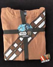 Disney Men's Star Wars Chewbacca Costume Union Suit Pajama Sleep Set - Medium