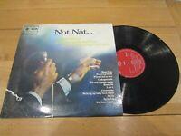 "DANNY WILLIAMS - Introduces Sol Raye ""Not Nat"" - 1969 UK 12-track vinyl LP"