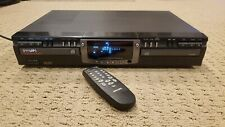 Philips Cdr 765/17 Dual Tray Cd Recorder - Recordable Rewritable - Tested