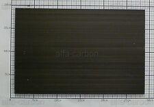 7,4mm Carbon Platte Kohlefaser CFK Platte ca. 279mm x 182mm