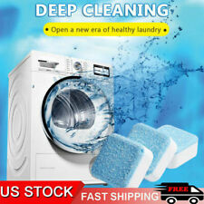 5-20PACK Effervescent Tablet Washer Deep Cleaning Solid Washing Machine Cleaner