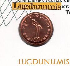 Slovénie 2007 - 1 Centime d'Euro FDC provenant du coffret 100000 exemplaires