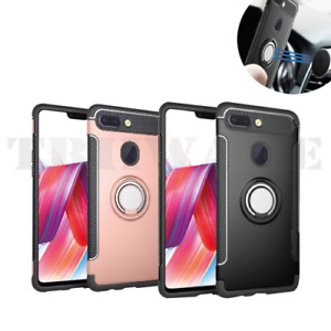 Oppo R15 Pro R11S R11 PLUS R9 R9S A73 A59 S F5 Shockproof Duty Ring Case Cover