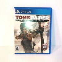 Sony PlayStation 4 Tomb Raider - Definitive Edition - No Manual - Good Condition