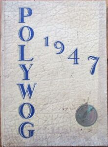 Brooklyn, NY Polytechnic Institute 1947 Yearbook, 'The Polywog' - New York