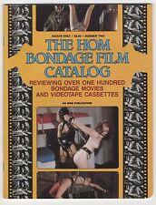 THE HOM BONDAGE FILM CATALOG sadomasochismo erotismo 1979