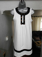 NEW YORK LAUNDRY ladies womens black and white dress 10 formal occasion party