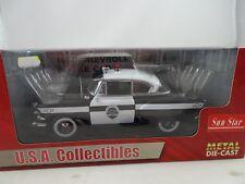 1:18 SUNSTAR #1705 - 1954 Chevrolet Bel Air Police car - Rare §